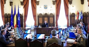 Preşedintele Klaus Iohannis a convocat şedinţa CSAT, pentru marţi