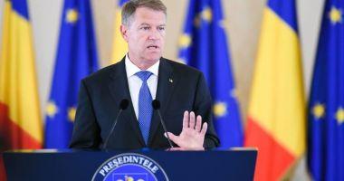 Declarații Klaus Iohannis despre protestele marcate de violențe
