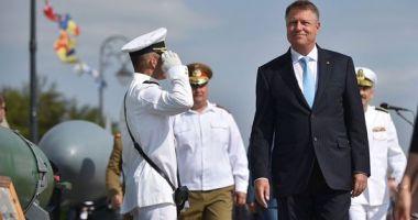 Klaus Iohannis, la Constanţa: La început, România a primit securitate de la NATO. Acum este și un furnizor de securitate