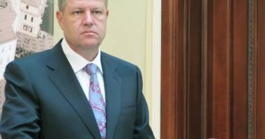 La un an de mandat, preşedintele Iohannis vrea să se adreseze Parlamentului
