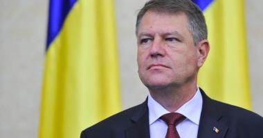 KLAUS IOHANNIS participă la şedinţa de bilanţ a Ministerului Public