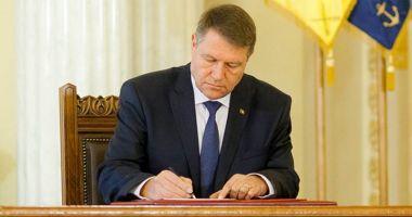 Decretul privind demiterea lui Vlad Voiculescu, semnat de preşedinte