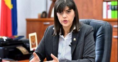 """Laura Codruța Kovesi: """"Sunt alături de procurorii și judecătorii care lucrează sub presiune"""""""