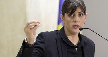 """Laura Codruța Kovesi, susținută de oficialii UE. """"Rămâne candidata preferată"""""""