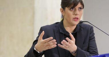 Laura Codruţa Kovesi, audiată după denunţul lui Sebastian Ghiţă