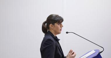 Laura Codruţa Kovesi: Corupţia poate fi învinsă, nu abandonaţi!