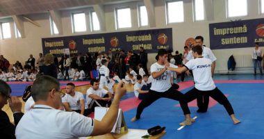 Naţionalele de Kung Fu, duminică, la sala