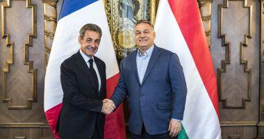 La Budapesta, Sarkozy îi ia apărarea lui Viktor Orban