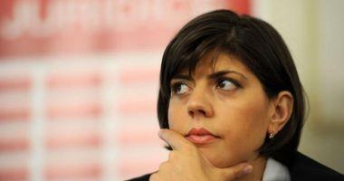 Laura Codruţa Kovesi susține o conferință de presă la ora 19:30