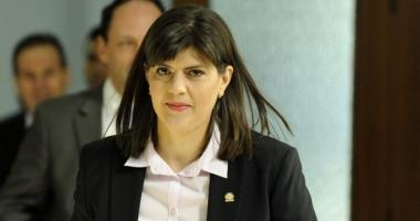 Laura Codruța Kovesi: Nu mi-a cerut demisia, nu intenționez să-mi dau demisia