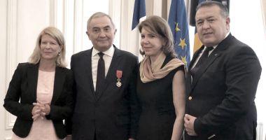 Lazăr Comănescu, decorat cu Legiunea de Onoare în grad de Ofițer