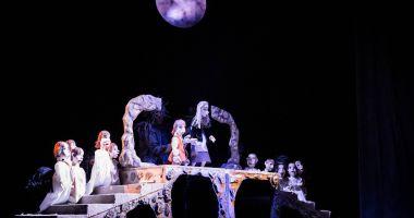 """""""Lebedele"""", un spectacol magic la Teatrul """"Căluțul de mare"""""""