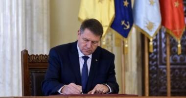 Iohannis a promulgat legea privind plafonarea indemnizației pentru copii