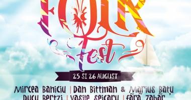 FolkFest Costineşti adună trubaduri din toată ţara