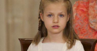 Regele Felipe al Spaniei şi-a decorat propria fiică