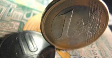 Euro rămâne peste 4,3 lei. Curs BNR: 4,3072 lei/euro