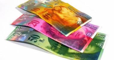 Francul elveţian a câştigat 1,22 bani
