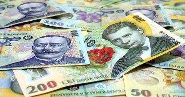 Leul rupe din euro și dolar, dar pierde la franc