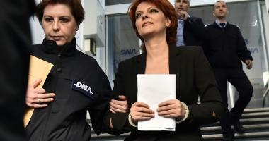Lia Olguța Vasilescu, trimisă în judecata pentru luare de mită și spălare de bani
