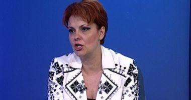 Lia Olguţa Vasilescu, numită consilier onorific al prim-ministrului în domeniul transporturilor