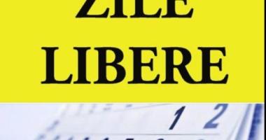 ZILE LIBERE 2018. Calendarul sărbătorilor legale. Câte zile nu se vor lucra anul acesta