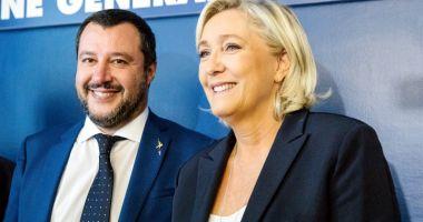 Liderii de extremă dreapta Salvini  şi Le Pen atacă