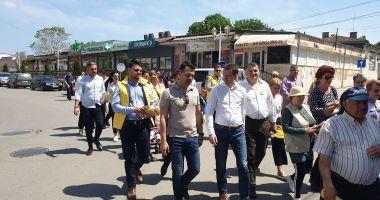 Liderul PNL Năvodari, George Niculescu, gazdă pentru Siegfried Mureşan
