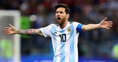 Lionel Messi revine la naţionala Argentinei!
