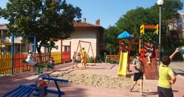 Un nou loc de joacă pentru copiii din Medgidia