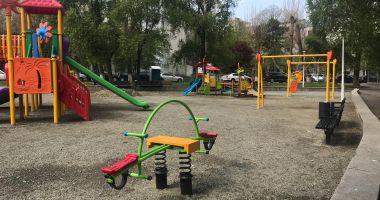 Se amenajează noi locuri de joacă pentru copii. Unde sunt amplasate