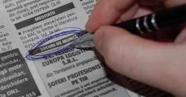 Informaţia zilei pentru şomeri