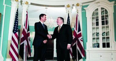 Londra vede un entuziasm real din partea SUA pentru un acord de liber schimb