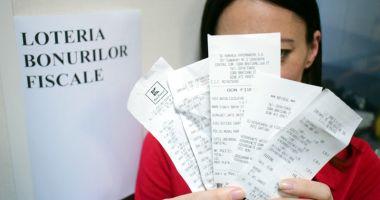 O nouă extragere a loteriei bonurilor fiscale