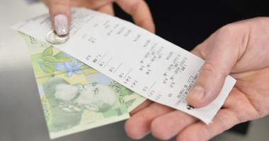 Loteria bonurilor fiscale.  Care sunt câștigătoare