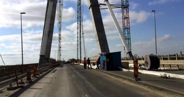 Lucrările la Podul Agigea, în întârziere!