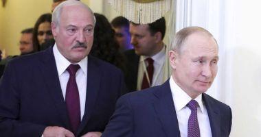 Putin a anunțat că se va întâlni cu Lukașenko la Moscova