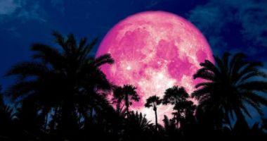 Luna roz 2019. Fenomenul care ne va ține cu ochii pe cer