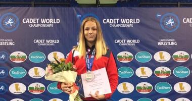 Luptătoarea Andreea Ana, din nou vicecampioană mondială