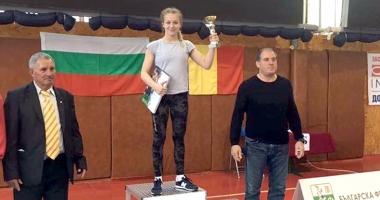 Luptătoarea Andreea Ana a strălucit la turneul