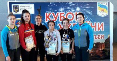 Luptătoarele Cristina Roşioru şi Ana Pîrvu, medaliate la Turneul Internaţional Brovary