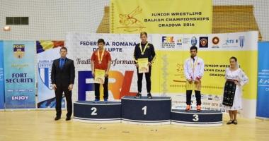 Luptător de la  CS Farul, campion balcanic de juniori