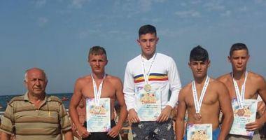 Luptătorii constănţeni, la înălţime!  Medalii la Naţionale, pe plaja din Mamaia