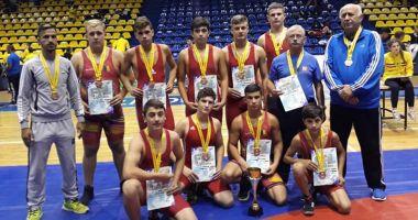 Luptătorii constănţeni, locul trei  la Campionatul Naţional pe echipe