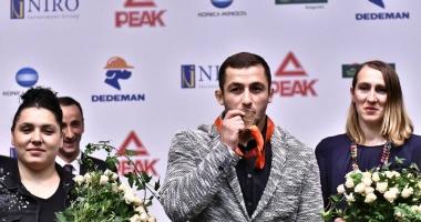 Luptătorul Gheorghiţă Ştefan şi-a primit medalia de la JO 2008