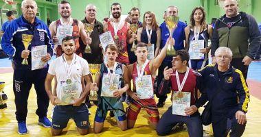 Luptătorii constănţeni,  pe podium la Cupa României