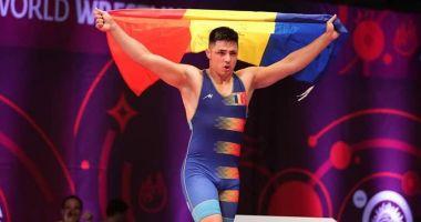 Luptător român, medaliat cu aur la Campionatele Europene