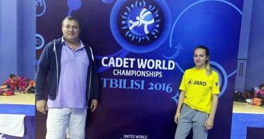 Super-Andreea!  O luptătoare din Mangalia, pe podiumul Mondialelor