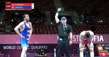Lupte / Albert Saritov, la un meci distanţă de la calificarea la JO de la Tokyo