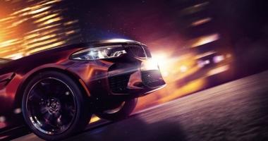 Noul BMW M5, dezvăluit parțial pe coperta jocului Need For Speed Payback