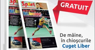 """Revista """"Sport Constanţa"""", de mâine, în chioşcurile Cuget Liber"""